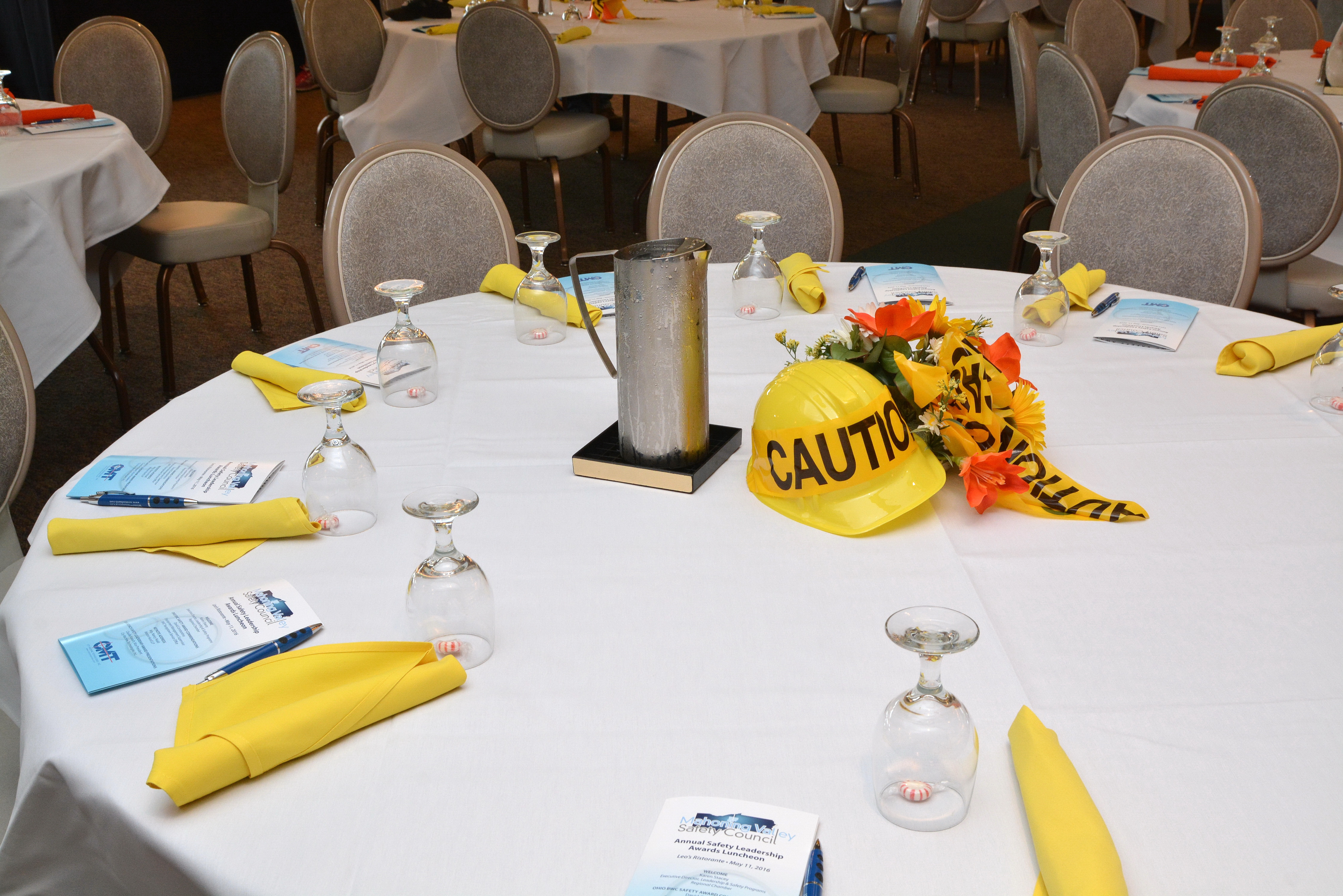 Safety Awards table