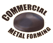 Commercial metal forming logo